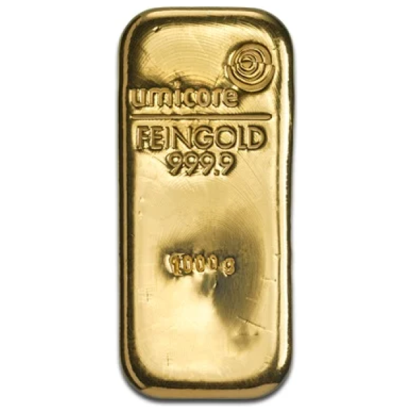 Umicore 1 Kilo Gold Bar