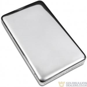 Gold Bullion Dealers 1 Kilo Blank Silver bar