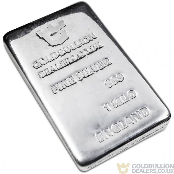 Gold Bullion Dealers 1 Kilo Silver bar