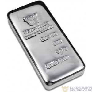 Gold Bullion Dealers 500 gram silver bar