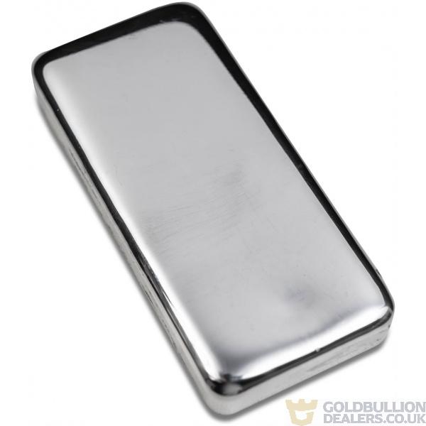 Gold Bullion Dealers 250 gram blank silver bar