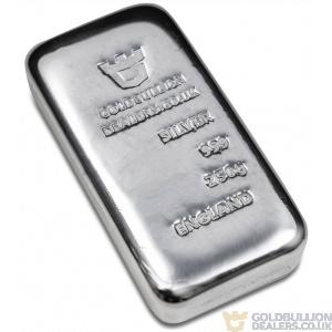 Gold Bullion Dealers 250 gram silver bar